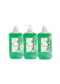 שלישיית סבון נוזלי פרש (ירוק) 500 מ