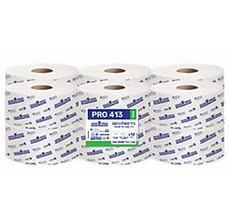 טואלט ג'מבו PRO 413 ECO- נייר טבעי חד שכבתי 12 גלילים