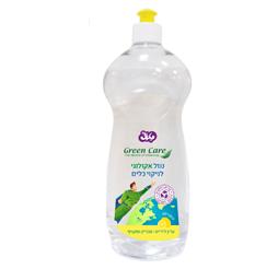 גרין קייר - נוזל אקולוגי לניקוי כלים לימון 18%  750 מ
