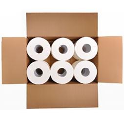 טואלט סמארט PURE - נייר איכותי חד שכבתי 100% תאית 12 גלילים