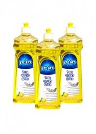 נוזל כלים שלישיה לימון 12% 750 מ