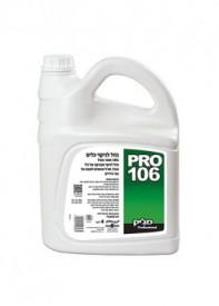 נוזל לניקוי כלים 18%  4 ליטר פרו 106