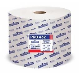 גליל מגבת תעשייתי PRO 432 COMFORT- נייר איכותי חד שכבתי כולל פרפורציה