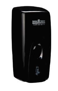 מתקן סבון נוזלי / סבון מקציף - שחור