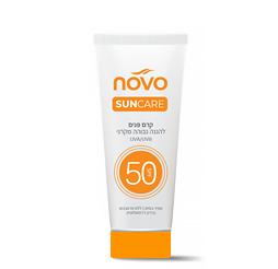 קרם פנים SPF 50 להגנה גבוהה מקרני UVA/UVB